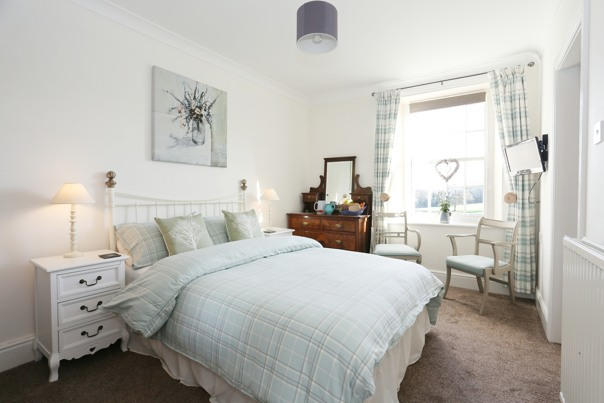 Beewerly Hall Farm double bedroom