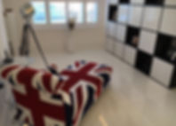 Modern interior #handmadechaise #bespoke