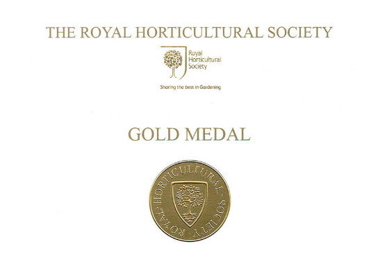 rhs gold medal winning garden design tat