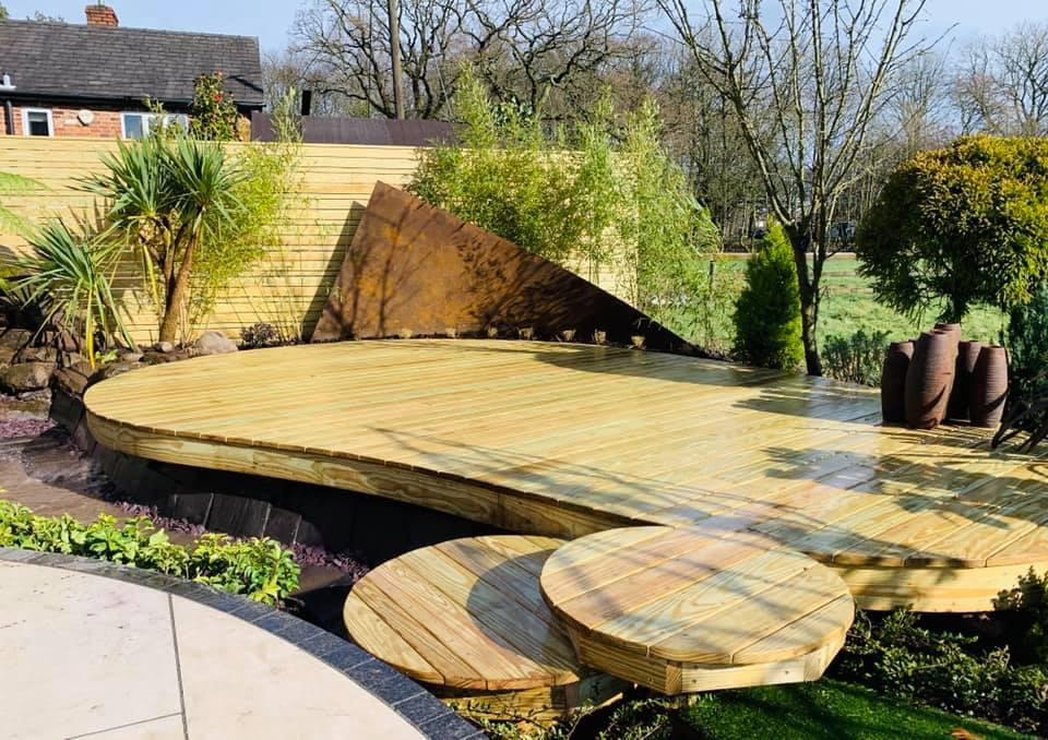 Low Maintenance Garden Cheshire