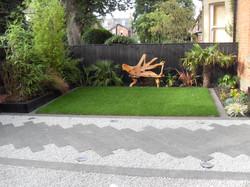 Modern front garden 1
