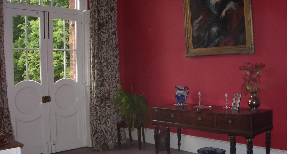 Reception_hall_at_Glebe_House_B&B_Muston