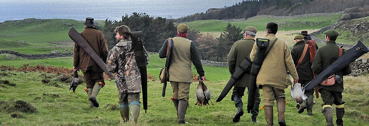 shooting at Gallanach Lodge, Isle o Muck