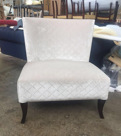 Upholstery hand-made chair Home Chic Hom