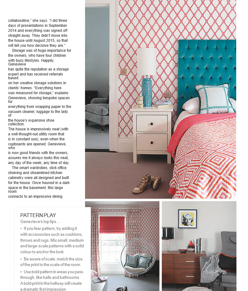 Feature article in Image Interiors & Liv