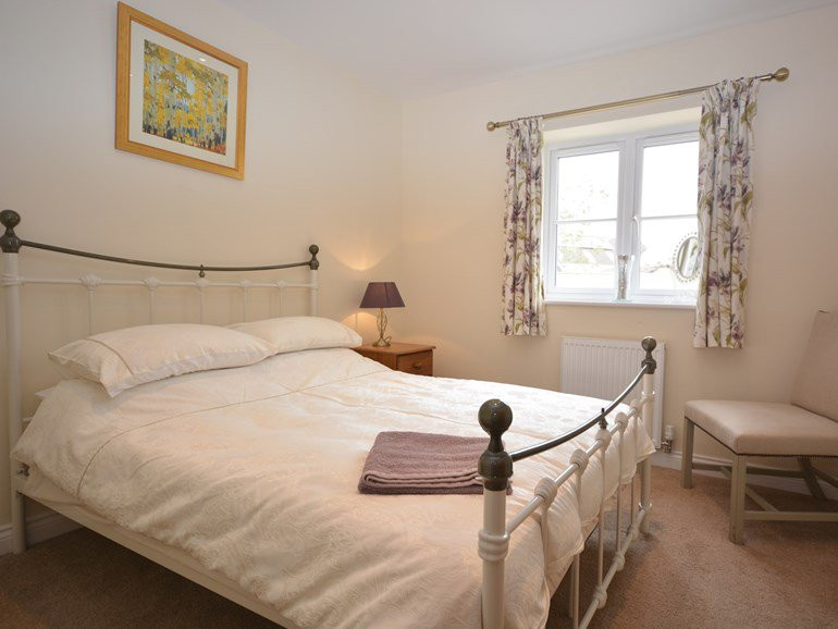 Ground floor double bedroom at The Mill