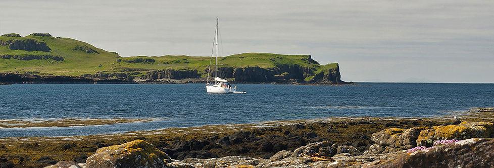 Galanach Lodge Isle of Muck Location - h