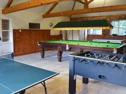Games room - snooke table - Bridge Farm