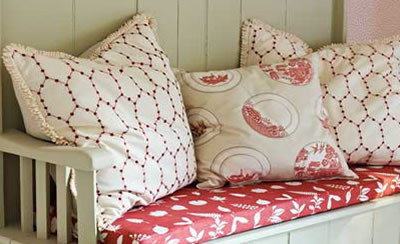 Assorted bespoke cushions - hand-made to order