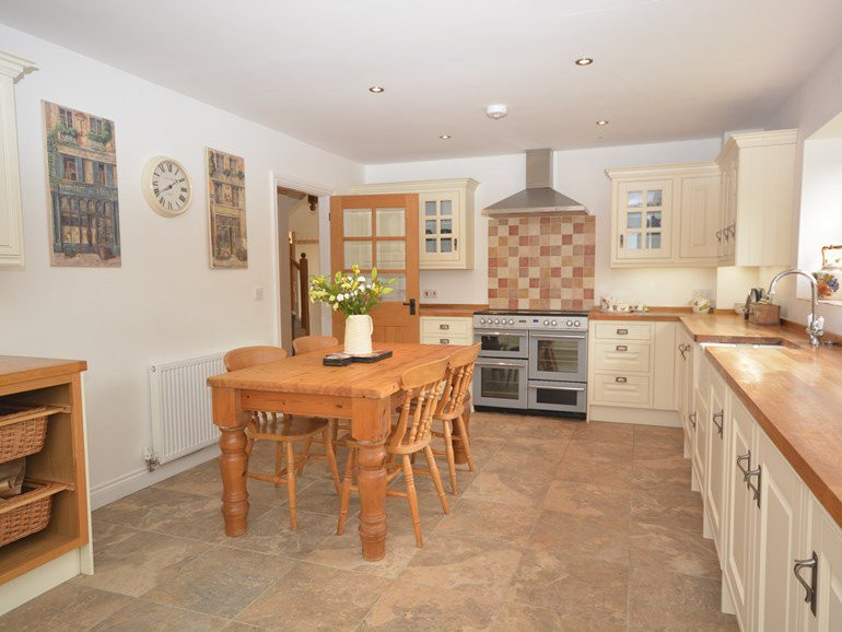Kitchen  at The Mill House At Meare, Gla