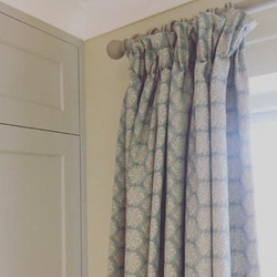pleat headed curtains