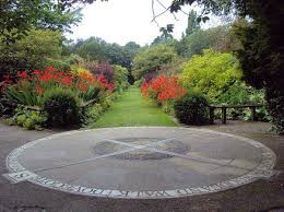 Compass Rose designed for Walkden Gardens (Sale Cheshire)