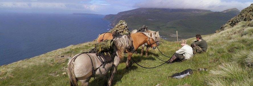 stalking at Gallanach Lodge Isle of Muck