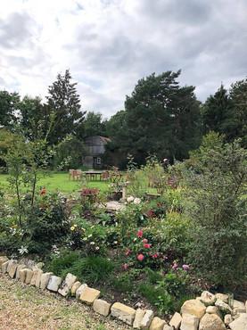 The garden at Leygren Farmhouse B&B Beau