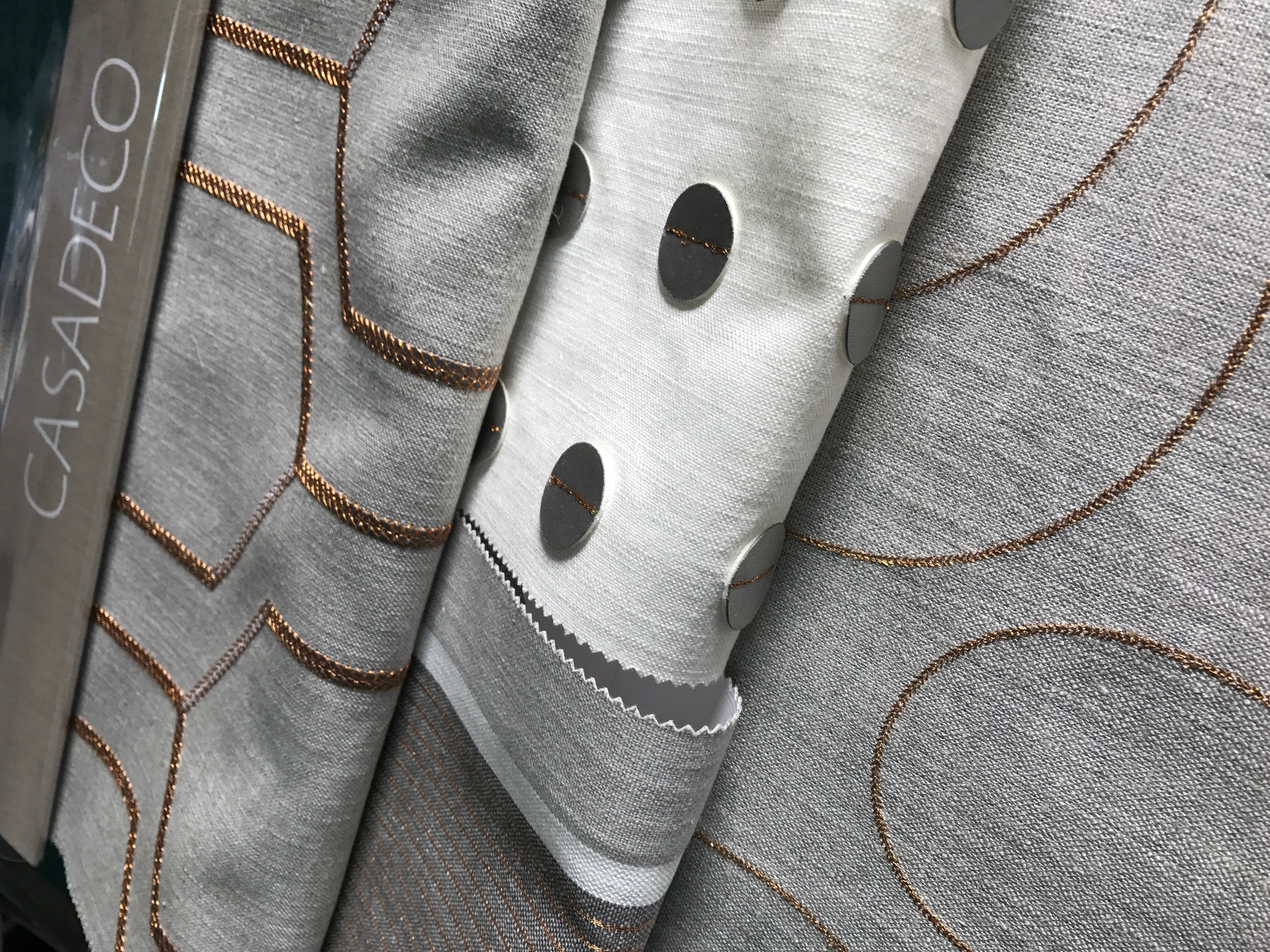 grey-copper-fabric-book-design