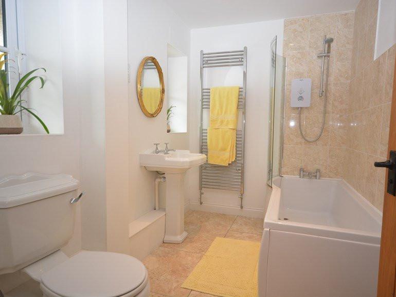 Ground floor bathroom at The Mill House
