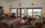 Lounge at Gallanach Lodge on the Isle of