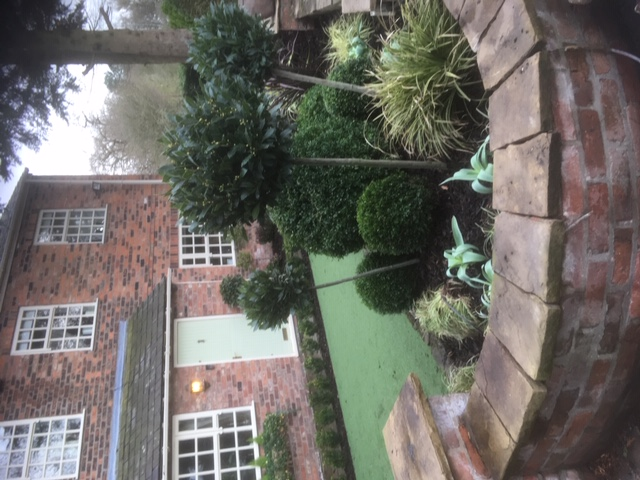 Low maintenance front garden Cheshir