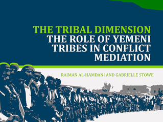 The Tribal Dimension: The Role of Yemeni Tribes in Conflict Mediation