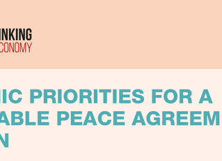 ECONOMIC PRIORITIES FOR A SUSTAINABLE PEACE AGREEMENT IN YEMEN