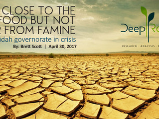 Close to the food but not far from famine