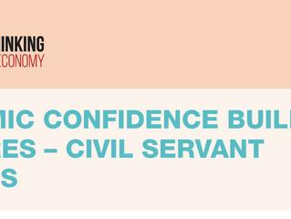 ECONOMIC CONFIDENCE BUILDING MEASURES – CIVIL SERVANT SALARIES