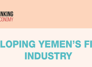 DEVELOPING YEMEN'S FISHING INDUSTRY