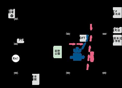 ワンコネクトへのアクセスマップ