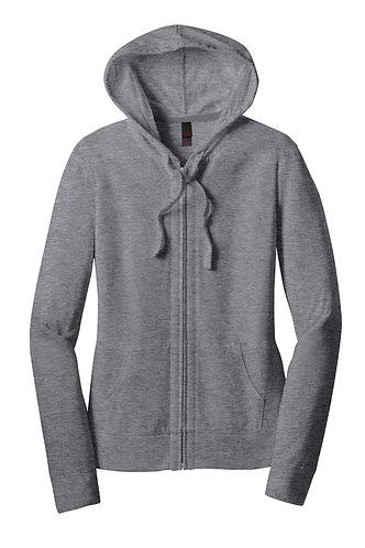 Ladies Cut Full Zip Sweatshirt
