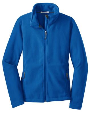 Ladies Cut Fleece Jacket