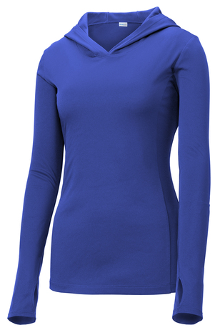 Ladies Performance Hooded Pullover