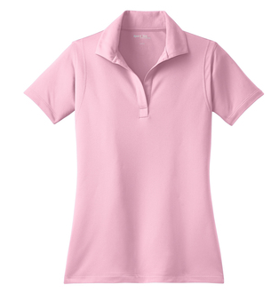 Ladies Cut Polo Pink