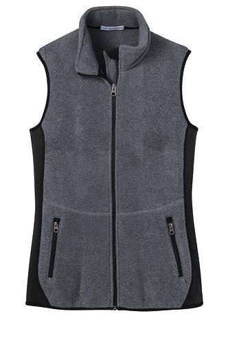 Ladies Cut Fleece Vest