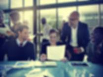 Business People Corporate Meeting Board