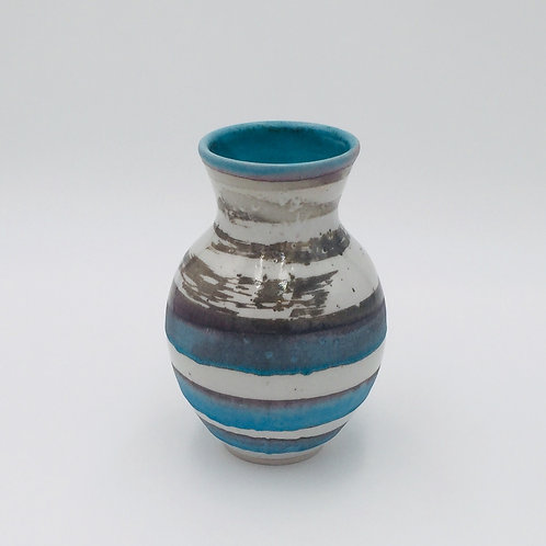 Turquoise Vase by Renata Wadsworth