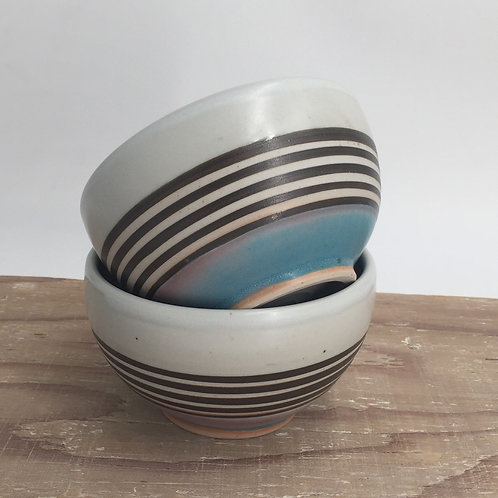 Carved Cereal bowl by Renata Wadsworth