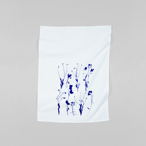 Forget Me Not Kitchen Towel by Planetarium Design