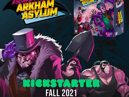 Arkham Asylum: Emergency Exit   The Board Game