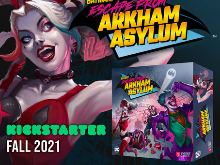 Arkham Asylum creepy and haunted tour. Includes cell visit with Super-Villains guide. Info here!