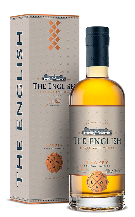 The English Whisky - Smokey