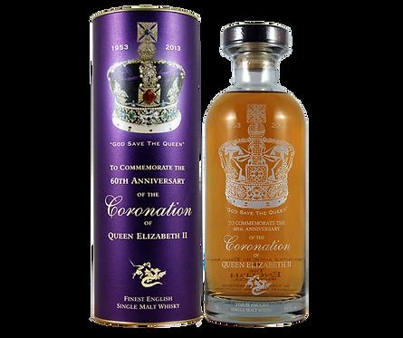 Queen's Coronation Celebration Decanter