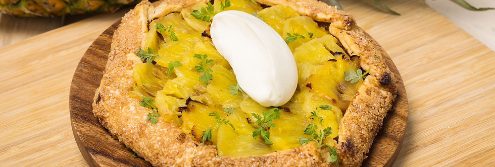Lacto-Fermented Pineapple Galette   Large Format