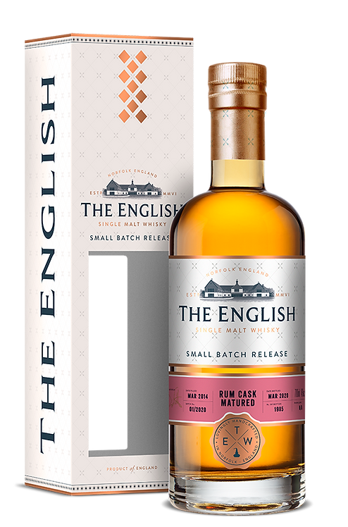 The English Whisky - Rum Cask Matured