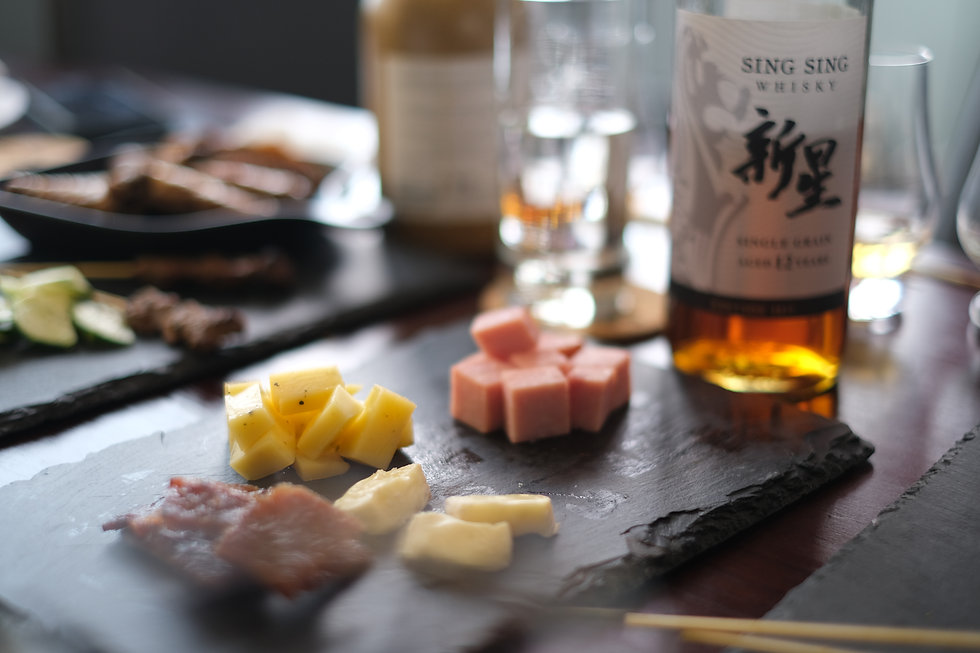 Sing Sing Whisky Singapore Bespoke Experience guided tastings