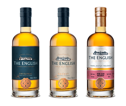 The English Whisky - Trilogy Experience Pack