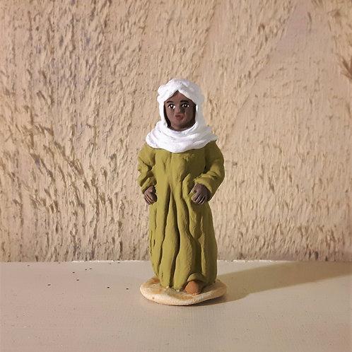 L'enfant bédouin, santon de Karine Fraisse
