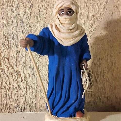 Le chamelier, santon de Karine Fraisse