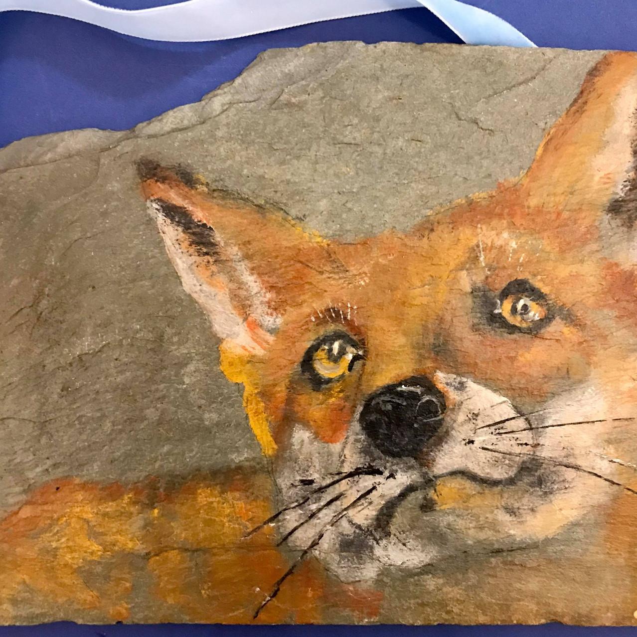 Arty fox