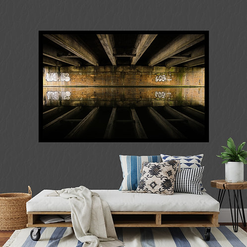 Reflective Canal Print