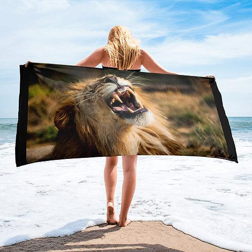 Male Lion Towel